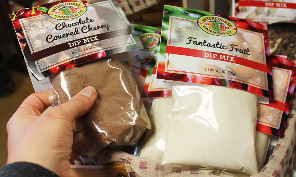 Chocolate Covered Cherry Dip Mix & Fantastic Fruit Dip Mix