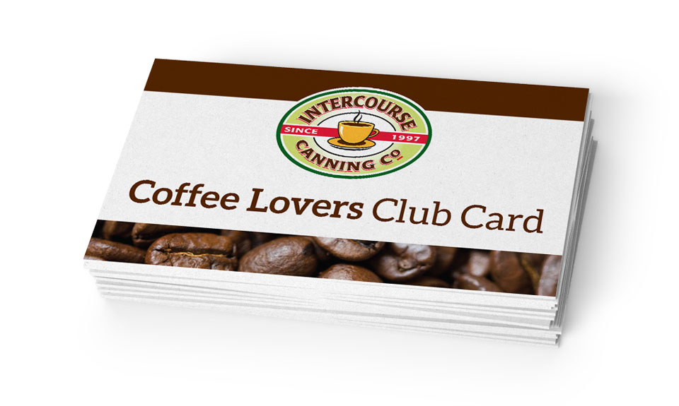 Coffee Lovers Card (Front)