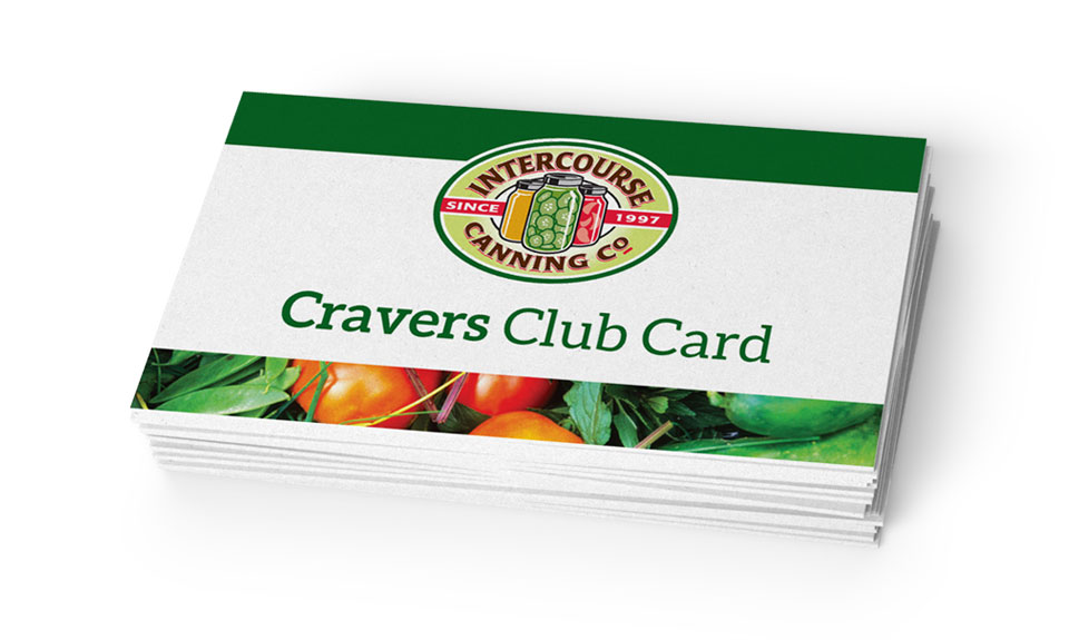 Cravers Club Card (Front)