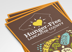 Hunger-Free Lancaster County Rack Card & Door Hanger