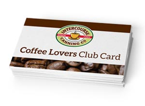 Intercourse Canning Company Loyalty Punch Cards