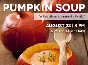 Pumpkin Soup Flyer, Program & Tickets